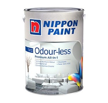 Nippon Paint Odour~less All-In-1