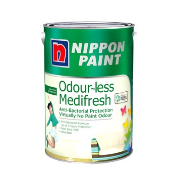 Nippon Paint Odour~less Medifresh 5L